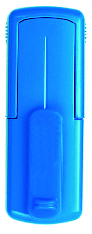 Taucherstempel 38 x 14mm blau