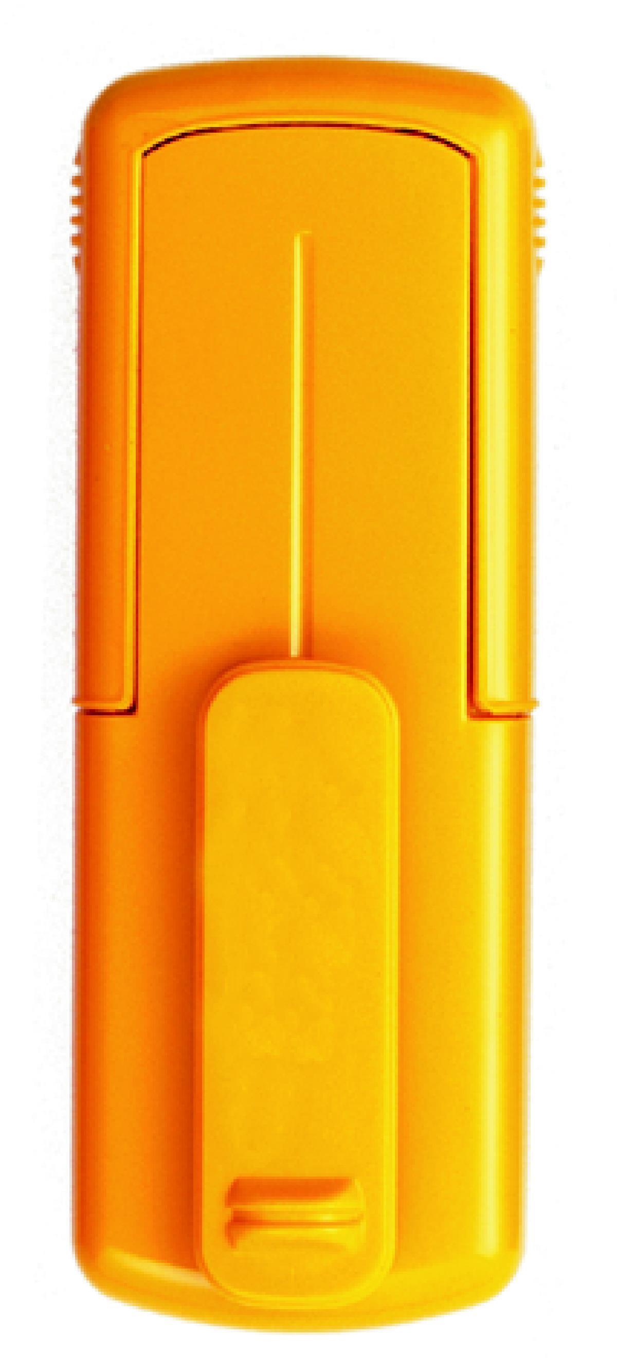 Taucherstempel 38 x 14mm gelb