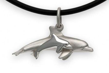 Delphin Mutter mit Kind