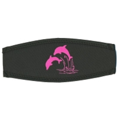 Neoprenmaskenband Delphine pink