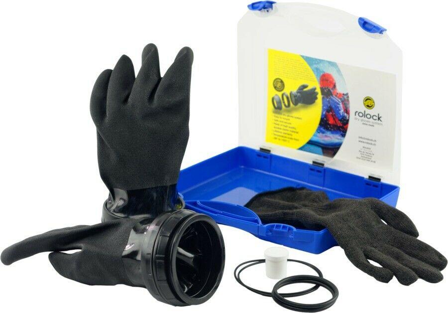 RoLock Handschuhsystem Schwarz