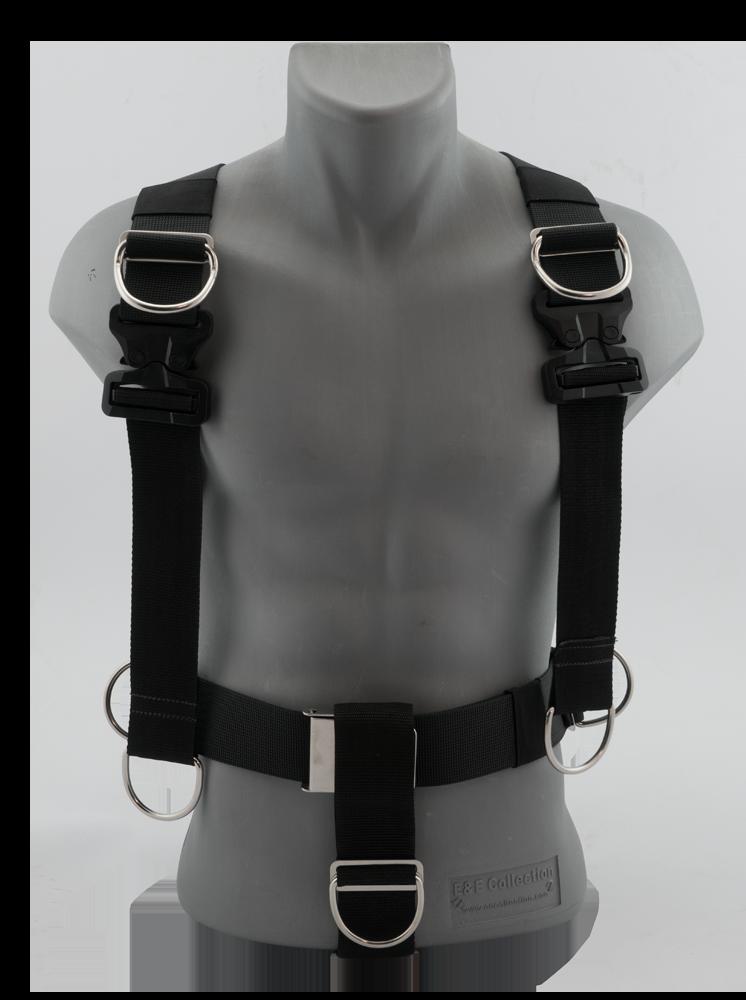 Harness Black Devil Cobra Comfort