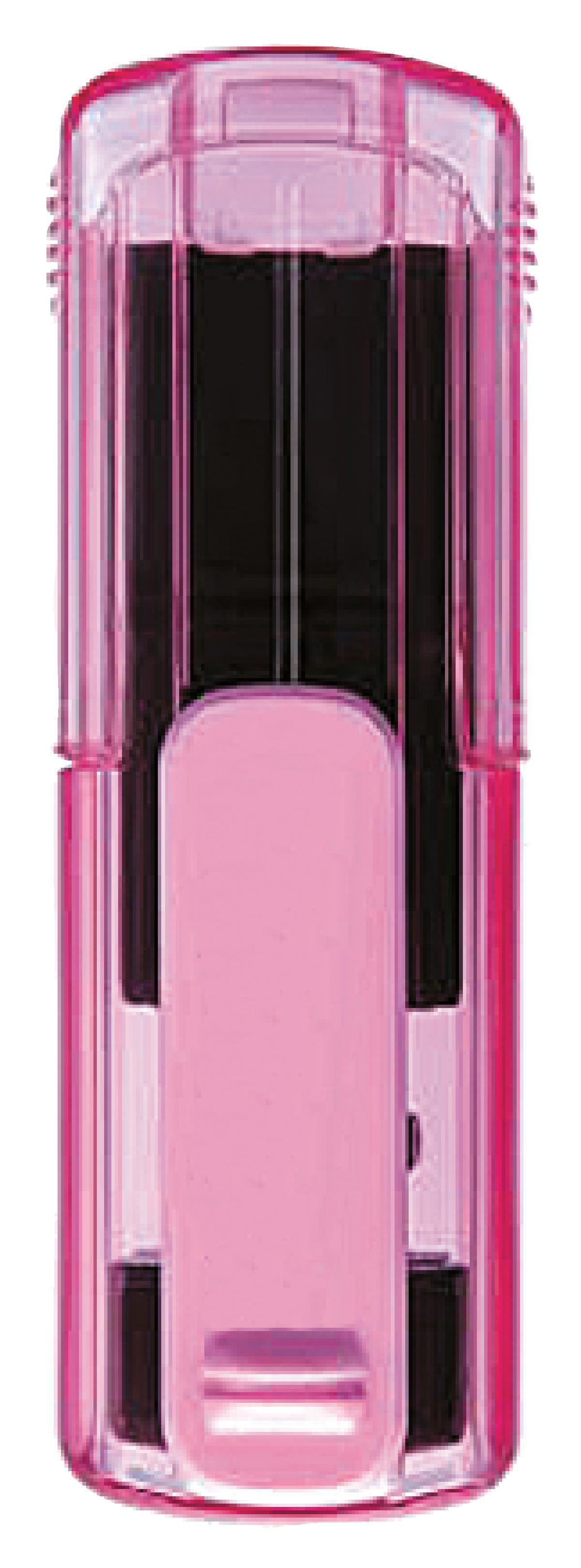 Taucherstempel 38 x 14mm pink