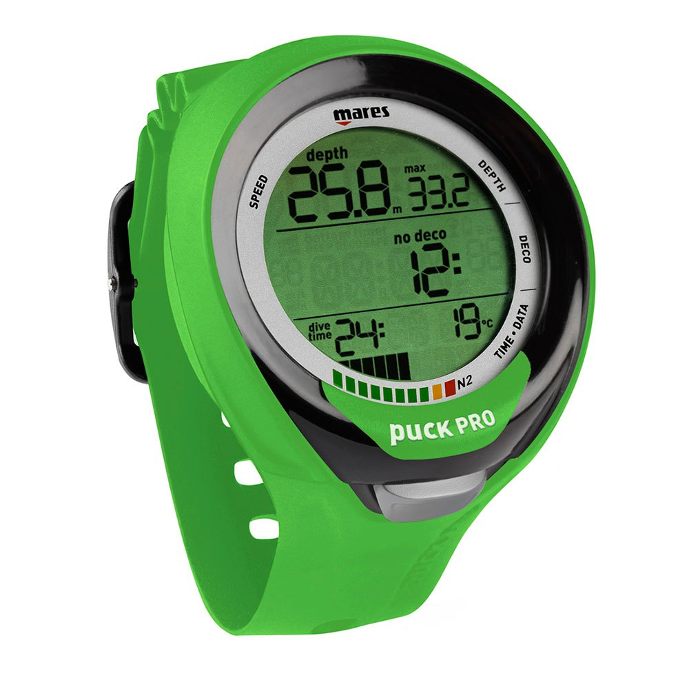 Mares Puck Pro + grün